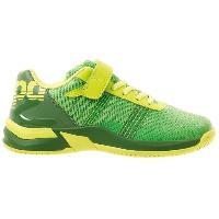 Chaussures De Handball KEMPA Chaussures de handball Attack Contender - Enfant garçon - Vert et jaune - 35