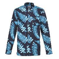 Chemise - Chemisette De Sport - Technique Chemise Tropical - Homme - Bleu insig - L