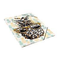 Chemise - Sous-chemise CLEMENTINA FROG Chemise a rabats 24x32 cm - Décor ananas
