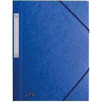 Chemise - Sous-chemise Chemise prestige - A4 - 32 cm x 24.5 cm x 0.4 cm - Bleu fonce