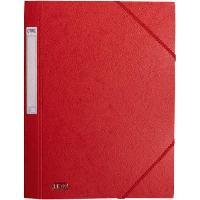 Chemise - Sous-chemise Chemise prestige - A4 - Rouge - 32 cm x 24.5 cm x 0.4 cm