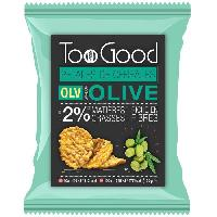 Chips Toogood Pétales biscuits apéritifs saveur Olives 60g - Tonino Lamborghini