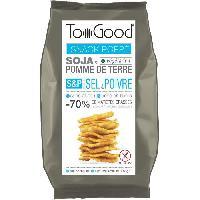 Chips Toogood biscuits apéritifs saveur Sel et Poivre 85g - Tonino Lamborghini