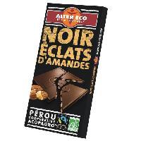 Chocolat En Tablette Choc.nr aman.bio100g alt.eco - Aucune