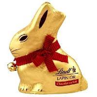 Chocolat En Tablette Chocolat Lindt Lapin Or Lait 200g pour Paques