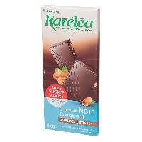 Chocolat En Tablette KARELEA Chocolat Noir Amande Entiere - 150 g