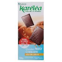 Chocolat En Tablette KARELEA Chocolat Noir Craquant Sesame Grille - 100 g