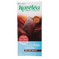 Chocolat En Tablette KARELEA Chocolat noir degustation 85 - 100 g