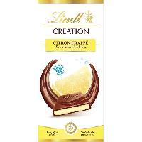 Chocolat En Tablette Tablette de Chocolat Lindt Creation Citron Frappe - 150G