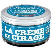 Cirage Et Autres Produit D'entretien Chaussure BRIOCHIN Creme de cirage - 50 ml - Sans silicone - Marron chocolat