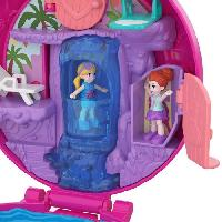 Circuit Miniature POLLY POCKET - La Piscine du Flamant Rose