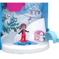 Circuit Miniature POLLY POCKET - Le Chalet Enneige
