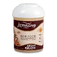 Cire - Pate - Gelee Coiffante - Gel Fixateur - Lait Coiffant Activilong Actiliss Hair Food Argan Keratine 125 ml