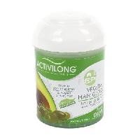 Cire - Pate - Gelee Coiffante - Gel Fixateur - Lait Coiffant Activilong Actirepair Brillantine Vegetal Hair Gloss Olive et Avocat 125 ml