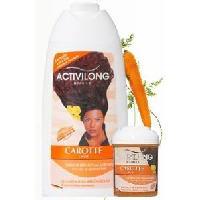 Cire - Pate - Gelee Coiffante - Gel Fixateur - Lait Coiffant Activilong Brillantine Regenerante Carotte 125 ml