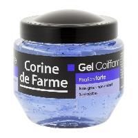 Cire - Pate - Gelee Coiffante - Gel Fixateur - Lait Coiffant CORINE DE FARME Gel Coiffant - Fixation Forte - 250 ml