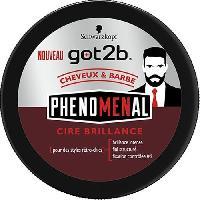 Cire - Pate - Gelee Coiffante - Gel Fixateur - Lait Coiffant Cire Coiffante Brillante Phenomenal Got2b - 100 ml