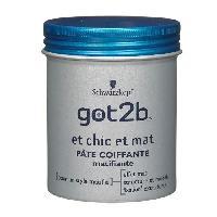 Cire - Pate - Gelee Coiffante - Gel Fixateur - Lait Coiffant Gel Got2be et Chic et Mat - 100ml