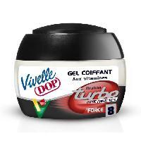 Cire - Pate - Gelee Coiffante - Gel Fixateur - Lait Coiffant Gel coiffant fixation turbo 150ml