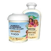 Cire - Pate - Gelee Coiffante - Gel Fixateur - Lait Coiffant Miss Antilles International Pommade Revitalisante Coco 125 ml