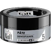 Cire - Pate - Gelee Coiffante - Gel Fixateur - Lait Coiffant Pate Coiffante Densifiante Taft - 75 ml