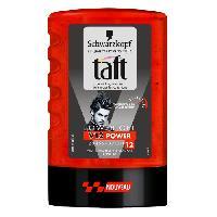 Cire - Pate - Gelee Coiffante - Gel Fixateur - Lait Coiffant Taft power gel - 300ML