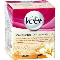 Cire D'epilation - Kit Cire D'epilation VEET Cire Orientale - Vanille