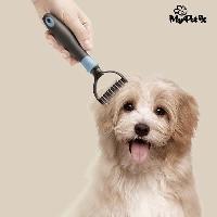 Ciseaux - Coupe-noeuds MY PET Démeloir coupe-noeuds Autum Brush - Pour animaux de compagnie - Mypet Ez