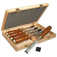 Ciseaux De Macon - Broche 5 ciseaux a bois manche bois