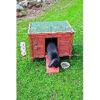Clapier TRIXIE Habitat Natura - 60x47x50cm - Pour lapin