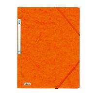 Classement - Archivage 10 Chemises Eurofolio - A4 - Orange