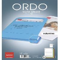 Classement - Archivage 10 pochettes coins avec fenetre Elco volumino - 22x31 - Kraft - Couleurs assorties