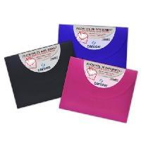 Classement - Archivage 1 pochette de rangement a dessin opaque - 27 x 35 cm - Couleurs assorties