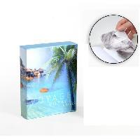 Classement - Archivage Album photo 10 x 15 cm - 100 vues - Boitier motif Océan - 26 x 20.5 x 5.5 cm - Aucune