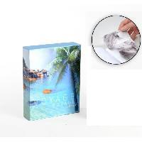 Classement - Archivage Album photo 10 x 15 cm - 200 vues - Boitier motif Océan - 26 x 20.5 x 5.5 cm - Aucune
