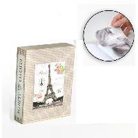 Classement - Archivage Album photo 10 x 15 cm - 200 vues - Boitier motif Paris - 26 x 20.5 x 5.5 cm - Aucune