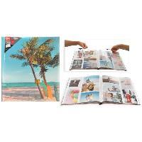 Classement - Archivage Album photo a pochettes - Multisens - 200 photos - 10 x 15 cm - Aucune
