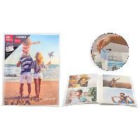 Classement - Archivage Album photo a pochettes souples Famille - 96 photos - 10 x 15 cm - Aucune