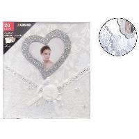 Classement - Archivage Album photo mariage adhesif - 20 pages - Aucune