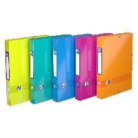 Classement - Archivage ELBA Boite color life - 24x32 cm - Dos 40 mm carte - Couleurs assorties