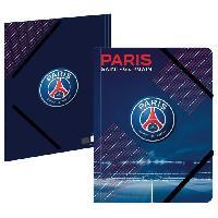 Classement - Archivage PARIS SG Chemise A4 193PSG108CHE - Carton - 3 rabats - Fermeture élastique - 24 x 32 cm Aucune