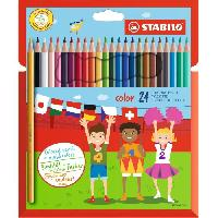 Classement - Archivage STABILO Etui carton de 24 crayons de couleur Color