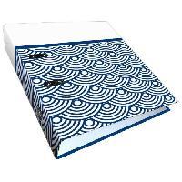 Classeur Classeur a levier - decor Japanese Waves - en Metal 3 cm - Dos 7 cm