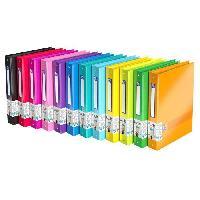 Classeur Classeurs color life A4 maxi - 4 anneaux - Dos 40mm
