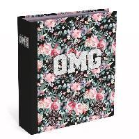 Classeur OMG Classeur a levier - Dos 8 cm - Fleur