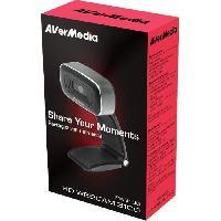 Clavier - Souris - Webcam AVERMEDIA Webcam Full HD Autofocus Plug and Play PW310O