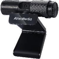Clavier - Souris - Webcam AVerMedia Live Streamer CAM 313 (PW313) - Webcam pour YouTubers et Streamers - Enregistrez en Full HD 1080p30 / Plug and Play / Focu