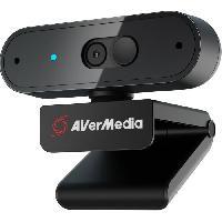 Clavier - Souris - Webcam AVerMedia Webcam Full HD 1080p30 PW310P-Autofocus-Rotation ... 360ø- Con?ue pour Skype. Zoom. Google Meet. Microsoft Teams. OBS. etc.