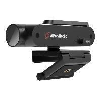 Clavier - Souris - Webcam AverMedia Live Streamer CAM 513-Webcam Ultra Grand Angle 4K avec Intelligence Artificielle -Id?al Streaming et Visioconf?rence.