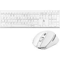Clavier - Souris - Webcam Pack Ultra Slim sans fil - Dongle unique pour la souris et le clavier Blue Element Be